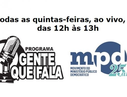 Gente do MPD que fala ao vivo