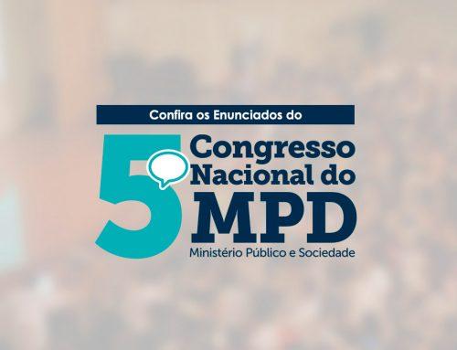 Enunciados do 5º congresso do MPD