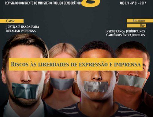 """Ricardo Dip na MPD Dialógico """"Riscos às liberdades de expressão e imprensa"""""""