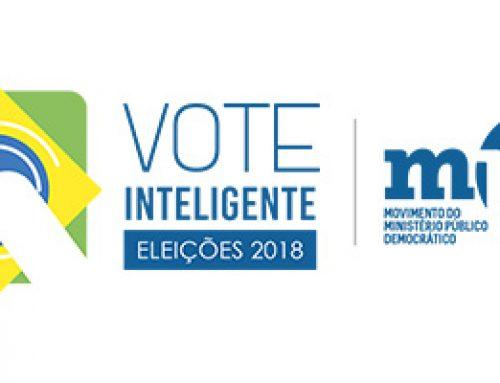 Assista os vídeos da Campanha Vote Inteligente! Eleições 2018 uma iniciativa do MPD – Movimento do Ministério Público Democrático