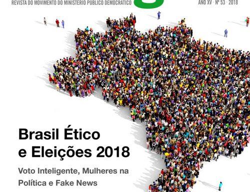 MPD Dialógico 53 – Brasil Ético e Eleições 2018: Voto inteligente, Mulheres na Política e Fake News