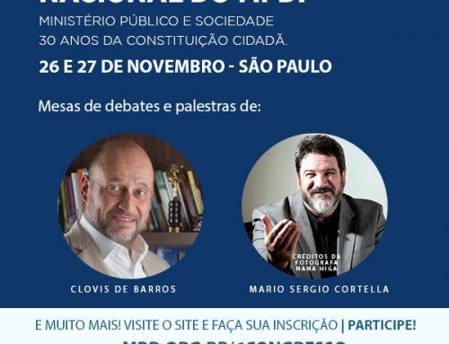 Encerram-se no dia 25/11 as inscrições com desconto para o 6º Congresso Nacional do MPD