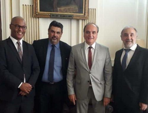 Diretoria do MPD reúne-se com secretário de Justiça e Cidadania