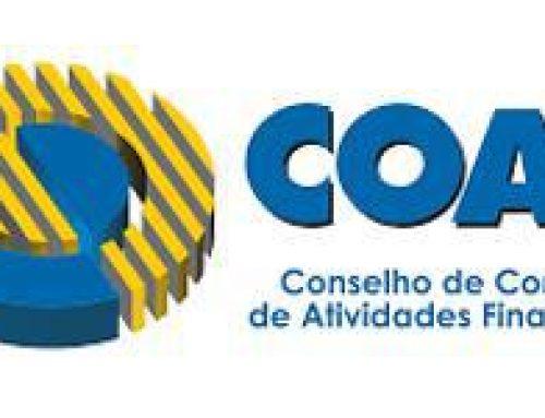 Suspensão de investigações baseadas no Coaf