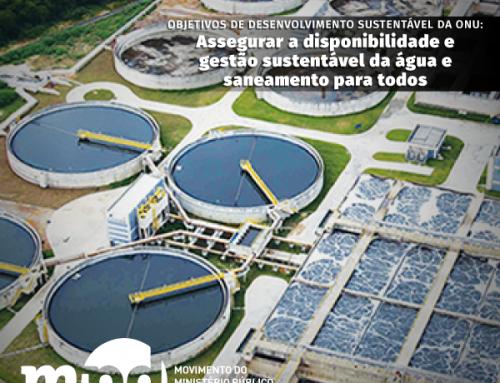 Objetivo 6 – Desenvolvimento Sustentável da ONU