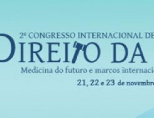 2º Congresso Internacional de Direito da Saúde: Medicina do Futuro e Marcos Internacionais dos Direitos Humanos