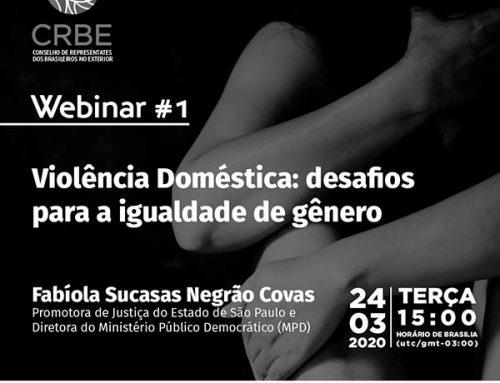 Ciclo de Palestras online para discutir sobre Questões Sociais e de Gênero
