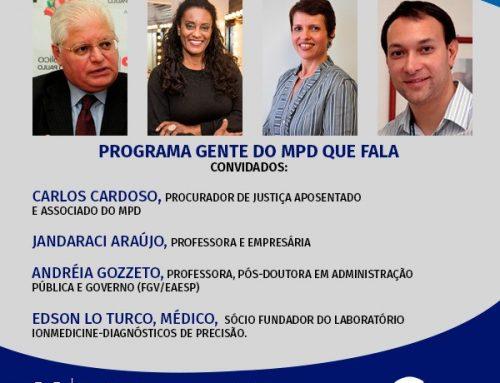 Gente do MPD que Fala – 11/06/2020