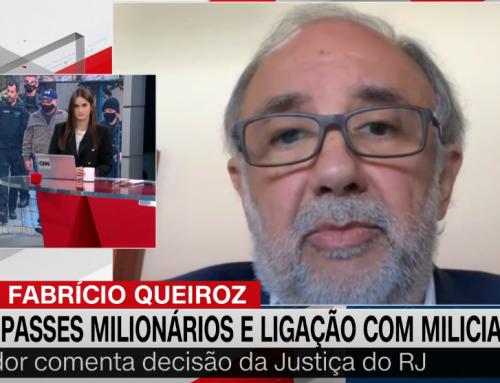 Clipping MPD – 'Provas do MP contra Queiroz já são significativas', analisa ex-procurador