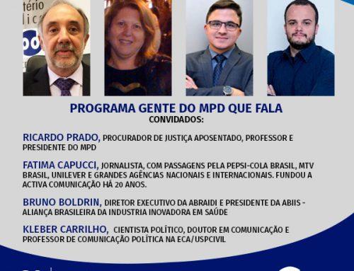 Gente do MPD que Fala – 30/07/2020