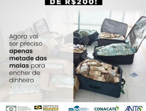 MPD assina manifesto pedindo que o Banco Central revise a adoção da cédula de R$ 200