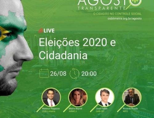 Clipping MPD – Eleições municipais de 2020 e cidadania