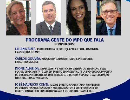Gente do MPD que Fala – 26/11/2020