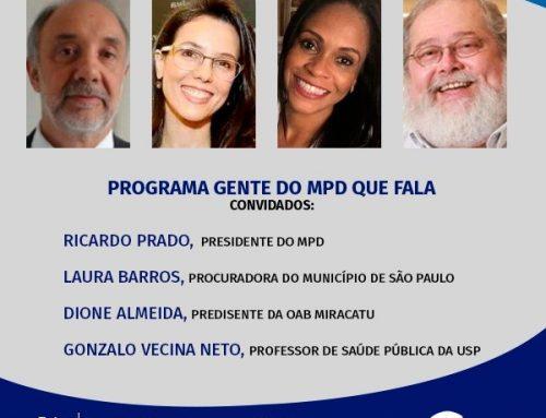 Gente do MPD que Fala – 14/01/2021
