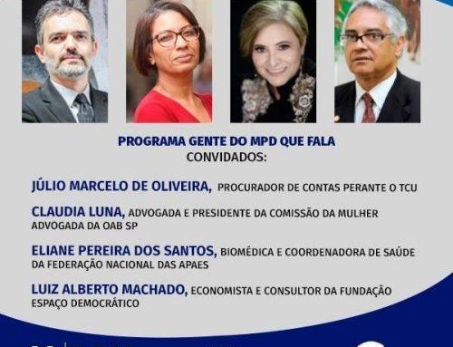 Gente do MPD que Fala – 16/09/2021